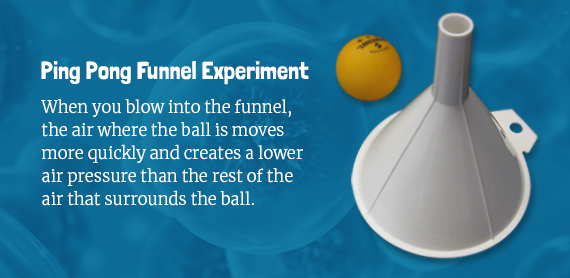 Ping pong funnel experiment