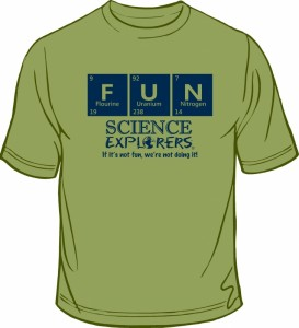 Science Explorers FUN tee-shirt